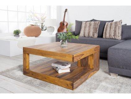 Masivní konferenční stolek Jake, 80cm 01