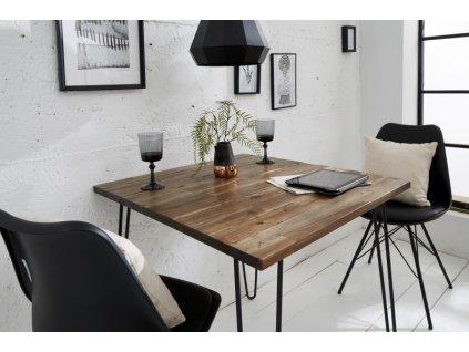 Masivní jídelní stůl Brandon, 80cm 01