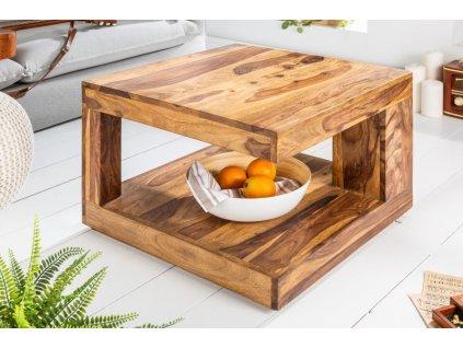 Masivní konferenční stolek Jake, 60cm 01