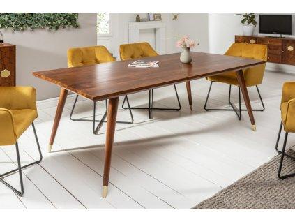 Masivní jídelní stůl Greg, 160cm 01