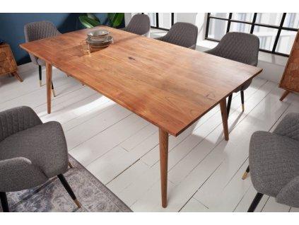Masivní jídelní stůl Gregory, 200cm 01