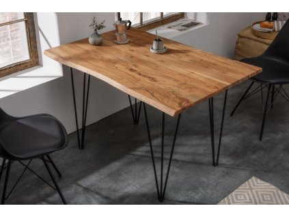 Masivní jídelní stůl Gus, 120cm 01