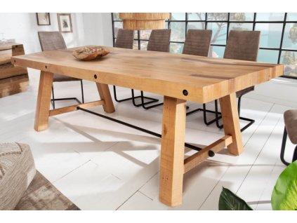 Masivní jídelní stůl Jeffrey, 200cm 01