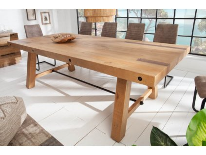 Masivní jídelní stůl Jeffrey, 240cm 01