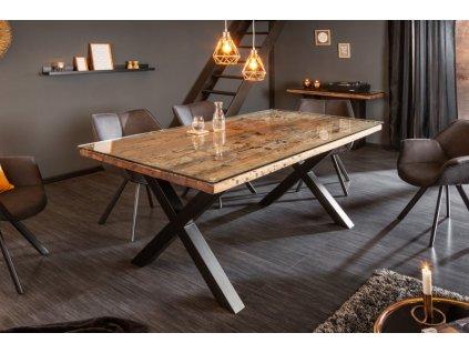 Masivní jídelní stůl Jerry, 180cm 01