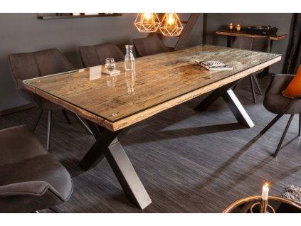 Masivní jídelní stůl Jerry, 220cm 01