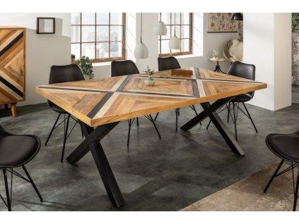 Masivní jídelní stůl Julian, 160cm 01