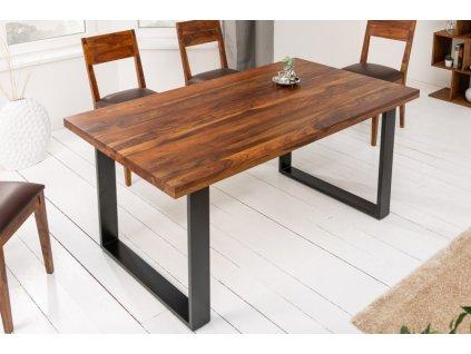 Masivní jídelní stůl Kai, 140cm 01