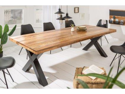 Masivní jídelní stůl Karl, 240cm 01