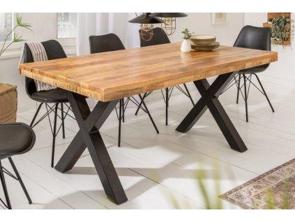 Masivní jídelní stůl Karl, 160cm 01