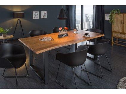 Masivní jídelní stůl Keanan, 160cm 01