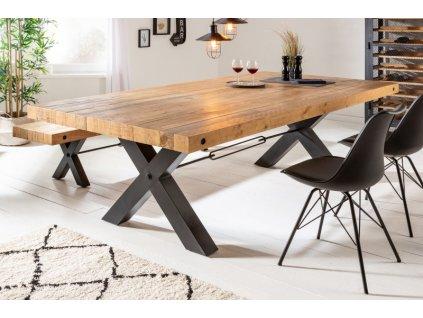 Masivní jídelní stůl Kelvin, 80mm 01