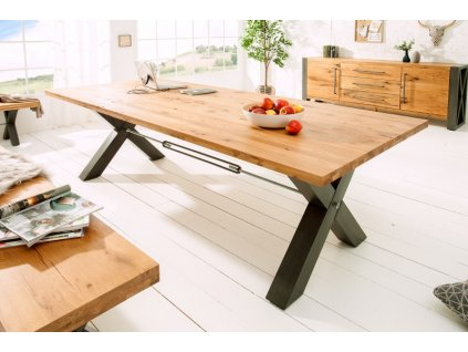 Masivní jídelní stůl Kelvin, 40mm 01
