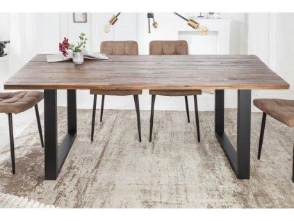 Masivní jídelní stůl Kenny, 160cm 01