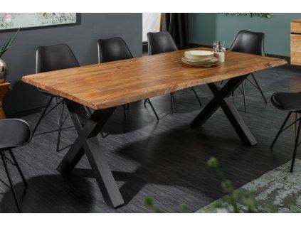 Masivní jídelní stůl Lachlan, 180cm 01