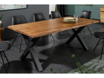 Masivní jídelní stůl Lachlan, 160cm 01