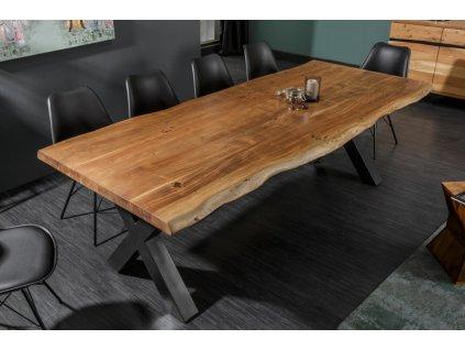Masivní jídelní stůl Lachlan, 200cm 01