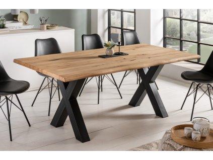 Masivní jídelní stůl Laurence, 200cm 01