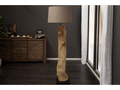 Designová stojací lampa Molly, béžová 02