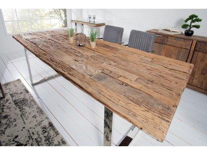 Masivní jídelní stůl Richard, 240cm 01
