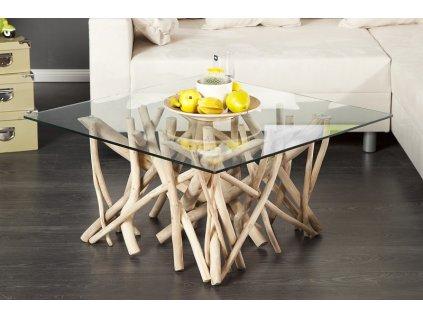 Luxusní konferenční stolek Paul, béžový 01