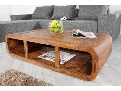 Masivní konferenční stolek Sean, 100cm 01