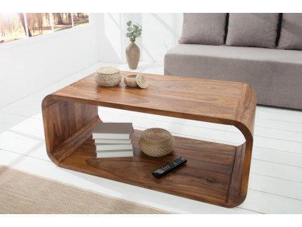 Masivní konferenční stolek Steven, 100cm 01