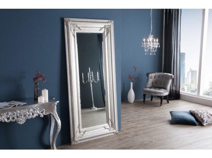 Renesanční zrcadlo Adam, stříbrné 01