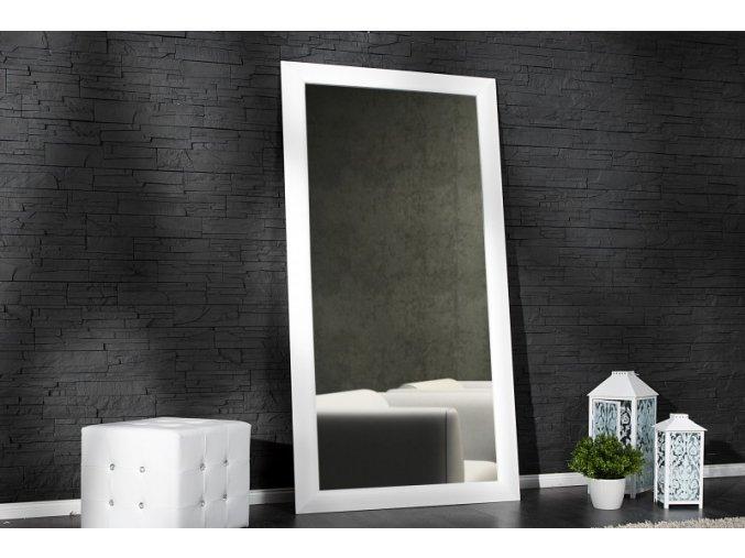 Nástěnné zrcadlo Matthew, bílé 01