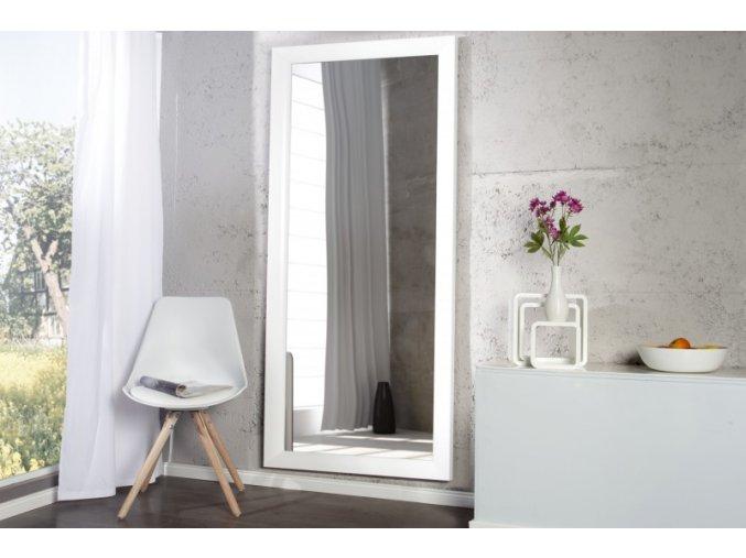 Nástěnné zrcadlo Jordan, bílé 01