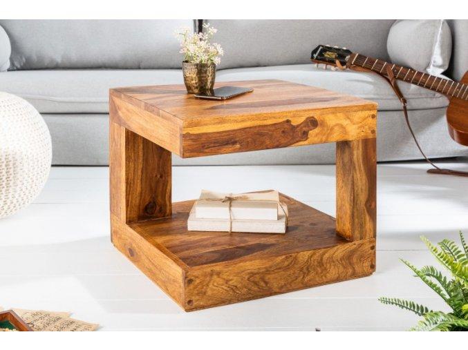 Masivní konferenční stolek Jake, 45cm 01