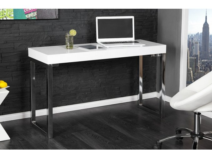 Psací stůl Connor, bílý 01
