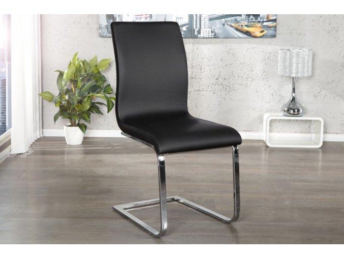 Jídelní židle Holly, černá (4ks) 01