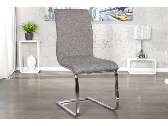 Jídelní židle Holly, šedá (4ks) 01