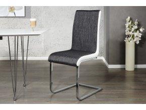 Jídelní židle Bethany, černá (4ks) 01