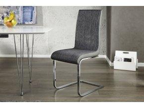 Jídelní židle Bethany, šedá (4ks) 021