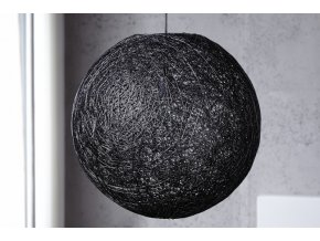 Přírodní lustr Joe L, černý 01