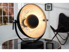 Luxusní stolní lampa Jess, stříbrná 01