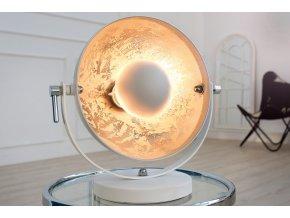 Luxusní stolní lampa Jess, bílá 01