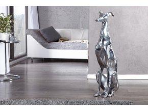 Designová dekorace socha Greyhound, 70cm 01