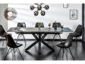 Luxusní jídelní stůl Oliver, černý 01