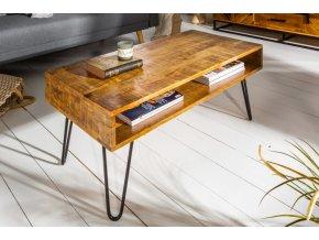 Konferenční stolek Tyler, přírodní 1