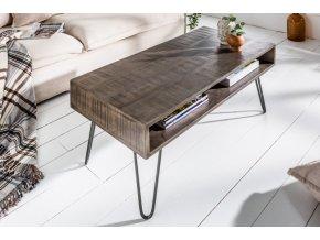 Konferenční stolek Tyler, šedý 01