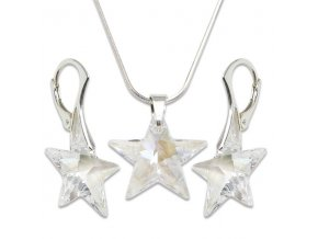 Set s kameny Swarovski STAR SET CRYSTAL