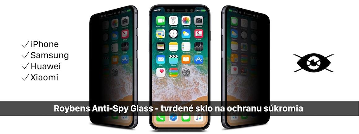 Tvrdené sklo na ochranu súkromia