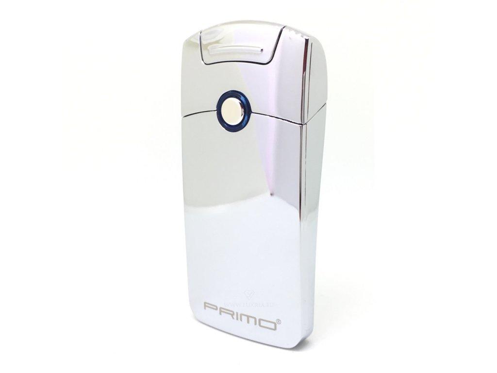 Plazmový zapalovač Primo Strieborný - Luxria af5d3cdc73c