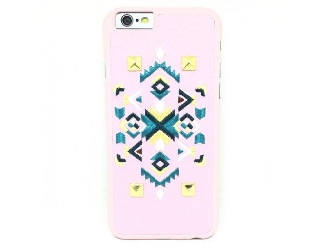 Totem of Love Vyšívaný kryt pre iPhone 1