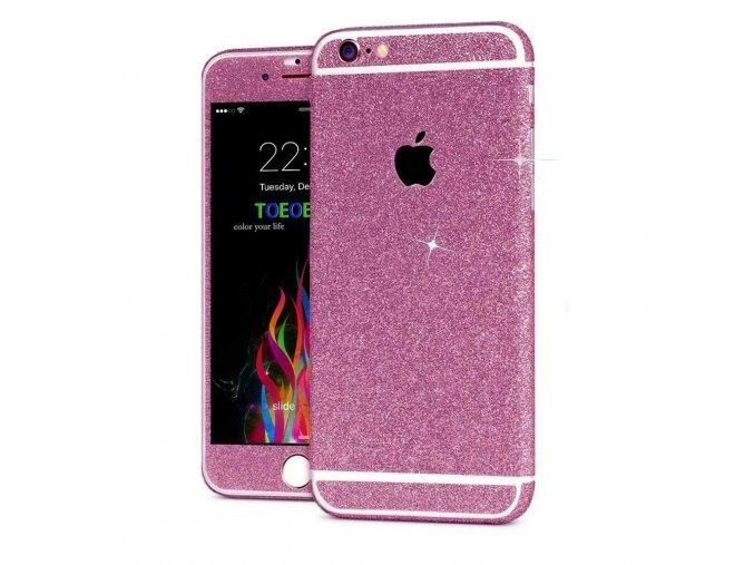 Roybens Glitter iPhone Wrap - Rose Gold 1