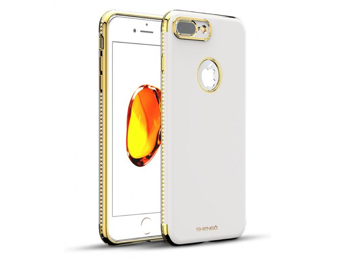 Shengo Elegant Biely iphone kryt 1