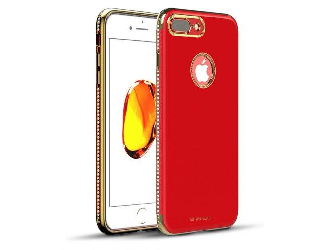 Shengo Elegant červený iphone kryt 1